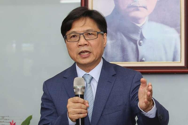 葉俊榮卸任內政部長後,一刻不得閒地赴任教育部。(柯承惠攝)