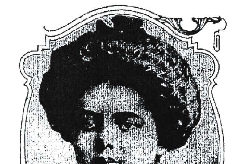 瑪麗‧馬龍肖像,原刊載於一九○九年六月三十日《紐約美國人報》。認識瑪麗的人都說她不但身材高壯,性格也很陽剛。(遠流出版提供)