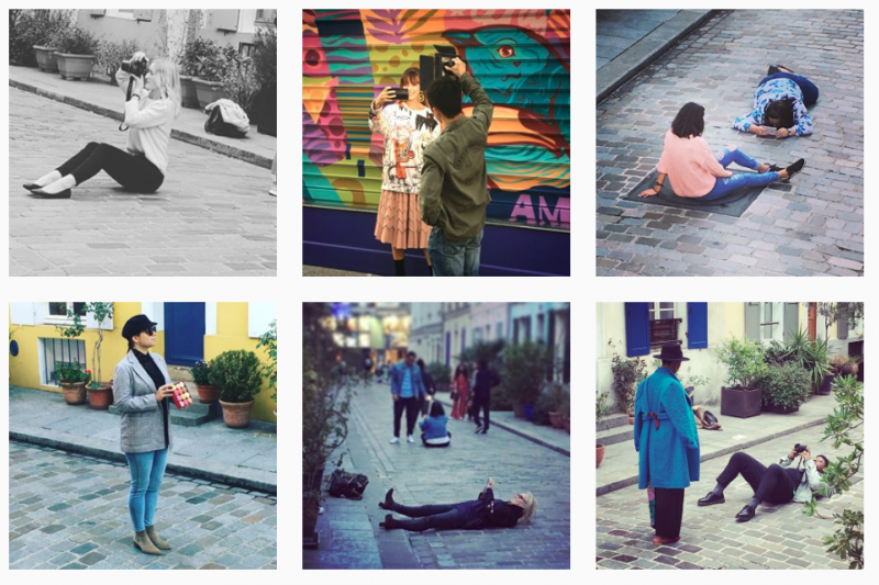 巴黎街道Rue Crémieux近來因為過度美麗的街景,迎來許多Instagram網紅前往朝聖,引起接到居民抗議,要求政府做出保護措施。(圖/截自 clubcremieux IG)