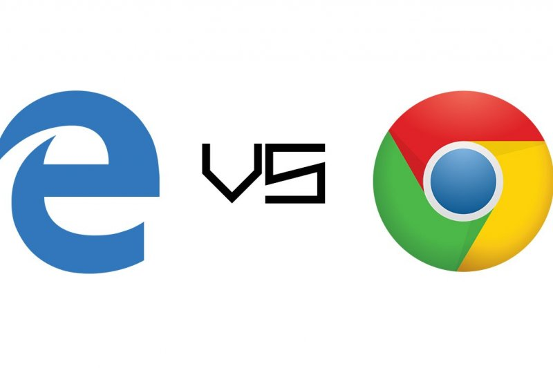 瀏覽器大對決,EDGE VS CHROME。(圖取自YOUTUBE)