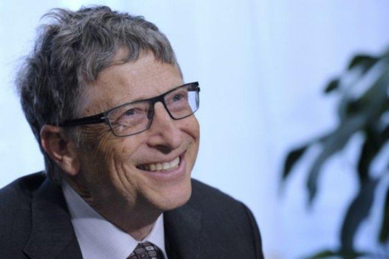 比爾蓋茲雖是富豪,但積極參與慈善事業更讓人印象深刻。(BBC中文網)
