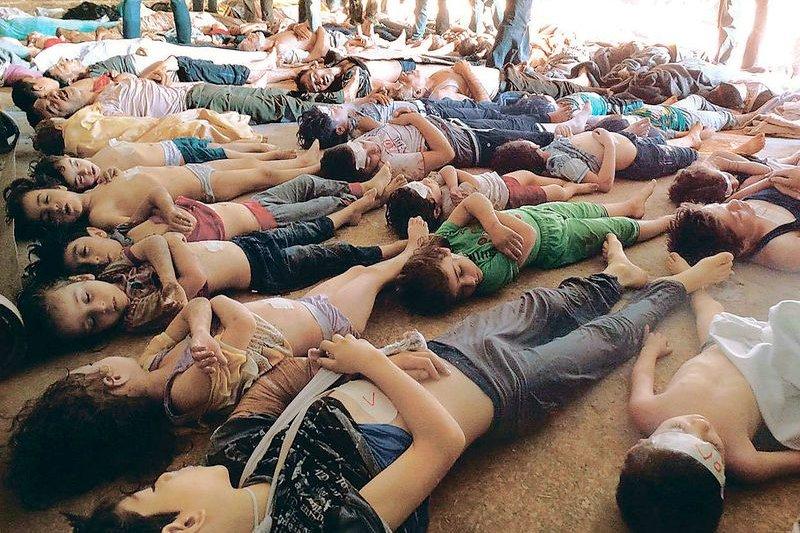 敘利亞內戰化武 Ghouta attack 21 August 2013