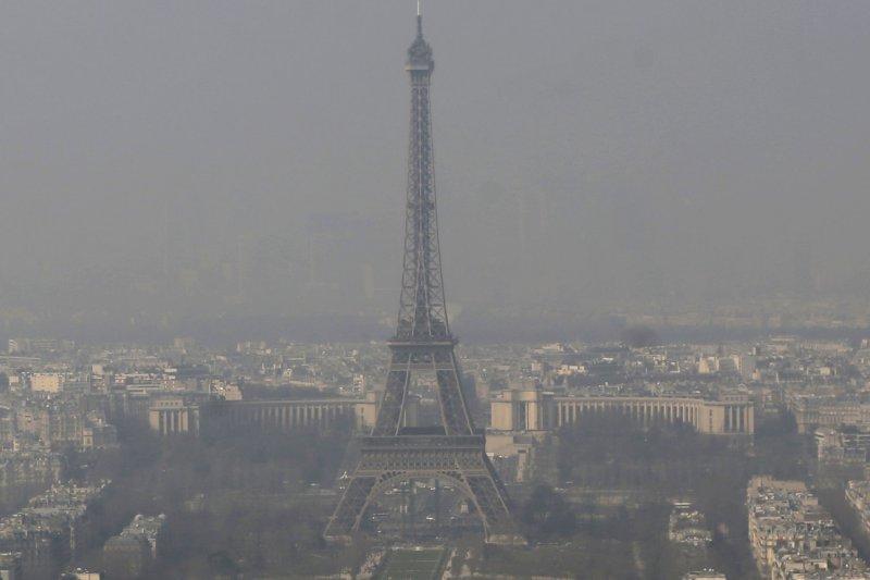 實驗指出,英國倫敦的塑膠微粒沉積率是法國巴黎的7倍。(AP)