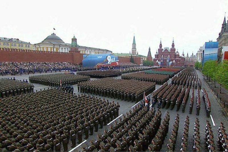 俄國5月將在莫斯科紅場舉行大規模閱兵。(翻攝網路)
