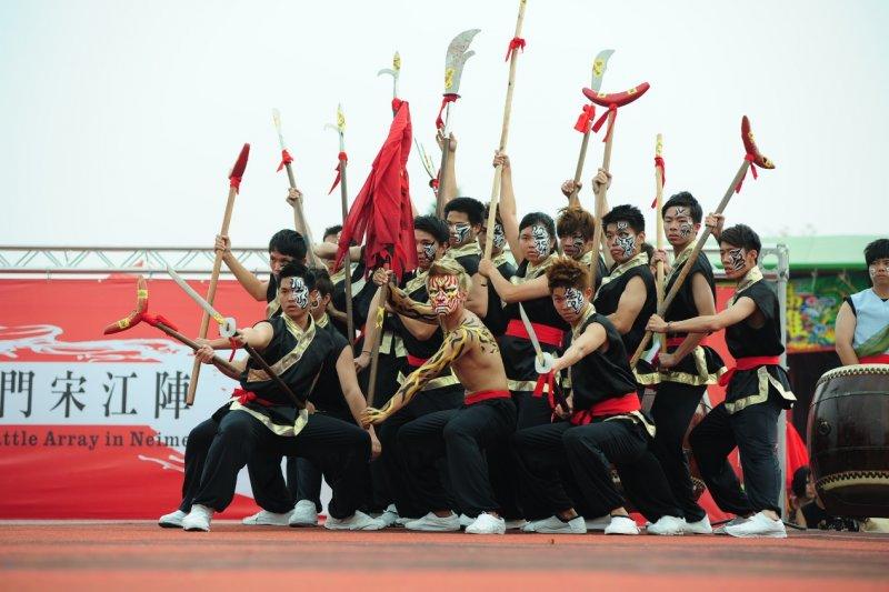 今年邁入第11屆的全國創意宋江陣頭大賽,將有多組高中職及大專院校隊伍參賽