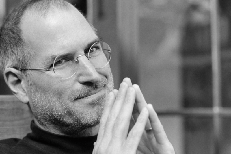 作者曾在蘋果工作得經常向Steve簡報。