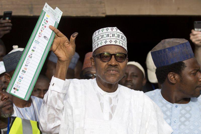 奈及利亞總統布哈里。(資料照,美聯社)