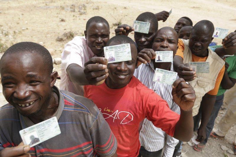 奈及利亞舉行總統大選。(美聯社)