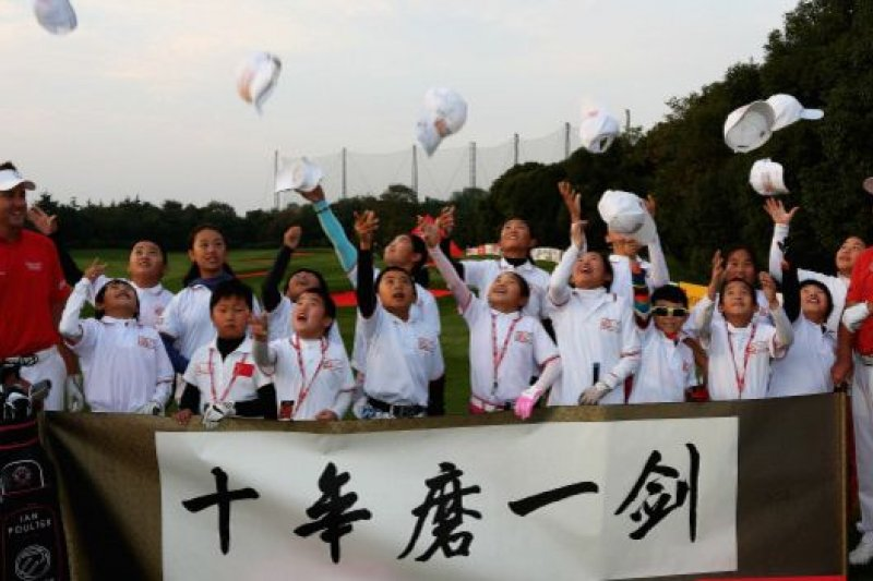 一份行業報告稱,中國在2014年的高爾夫運動核心人口為41萬。(BBC中文網)