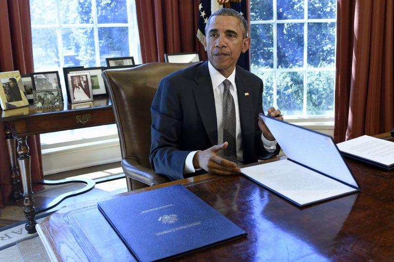美國總統歐巴馬簽署行政命令,打造世界第一的超級電腦。(美聯社)