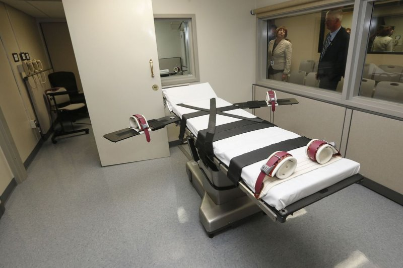 全球死刑狀況:美國奧克拉荷馬州的死刑執行室