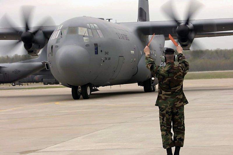 美軍C-130J(美國國防部網站)