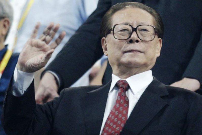 中共前總書記、中國前國家主席江澤民。