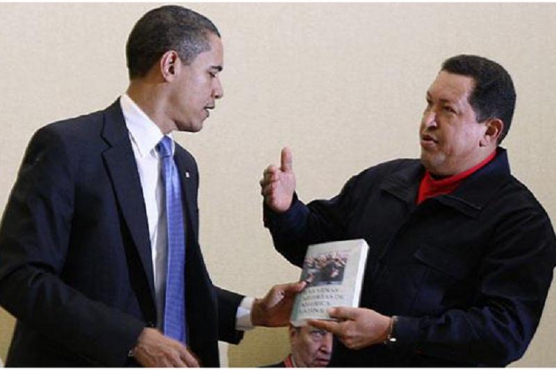 查維茲贈書歐巴馬
