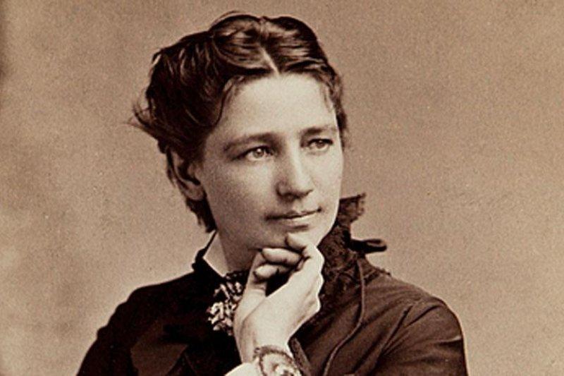 美國史上首位挑戰總統寶座的女性伍德哈爾。(取自維基百科)