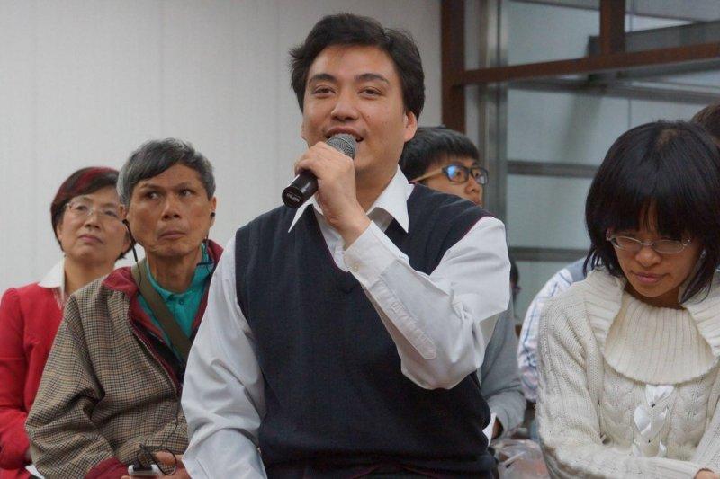 盲人律師李秉宏。(取自民主無障礙草根論壇)