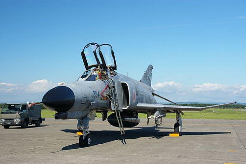 F-4EJ改。(維基百科)