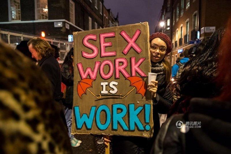 性工作是一項 「工作」,但卻是被高度歧視和無保障的工作。(騰訊網)