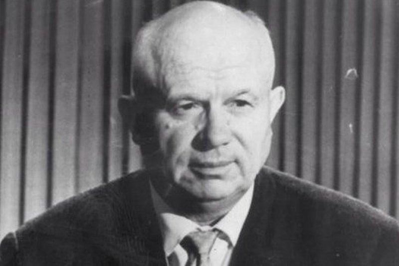 蘇聯前領導人赫魯曉夫。