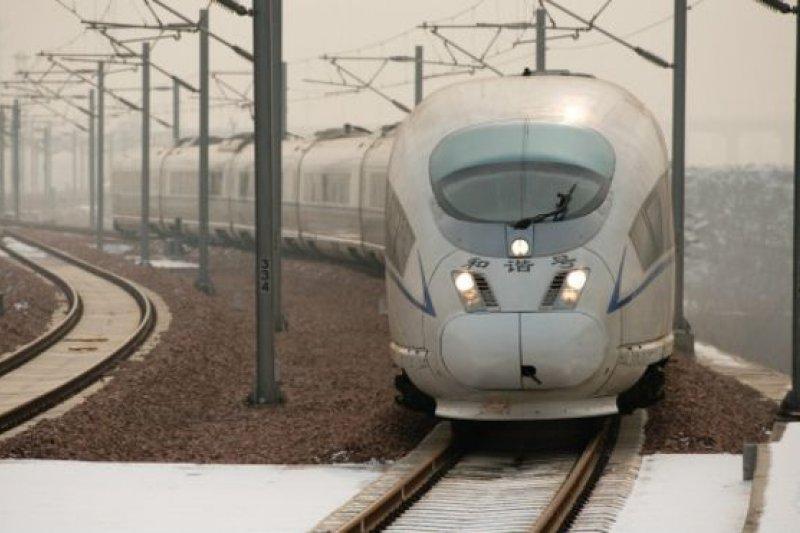 奈及利亞奧貢州城際鐵路項目總里程334公里,項目採用中國標凖,設計時速120公里(中國鐵路資料照片)。(BBC中文網)