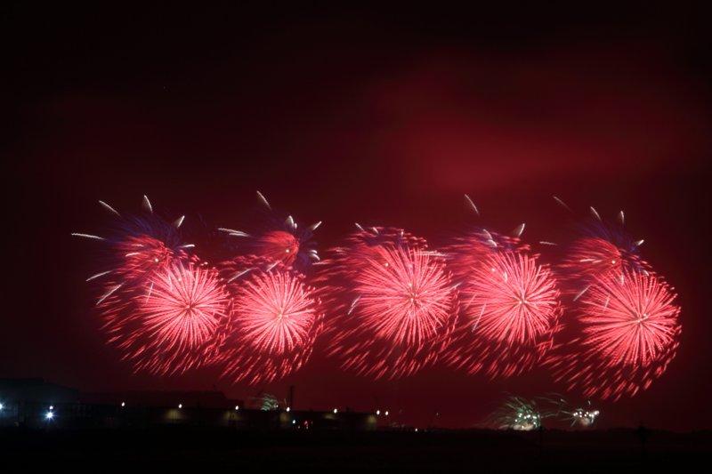 去年的國慶煙火在台中舉辦,今年是總統馬英九任內最後的國慶煙火,來到立法院長王金平老家高雄施放。(取自台中市政府網站)