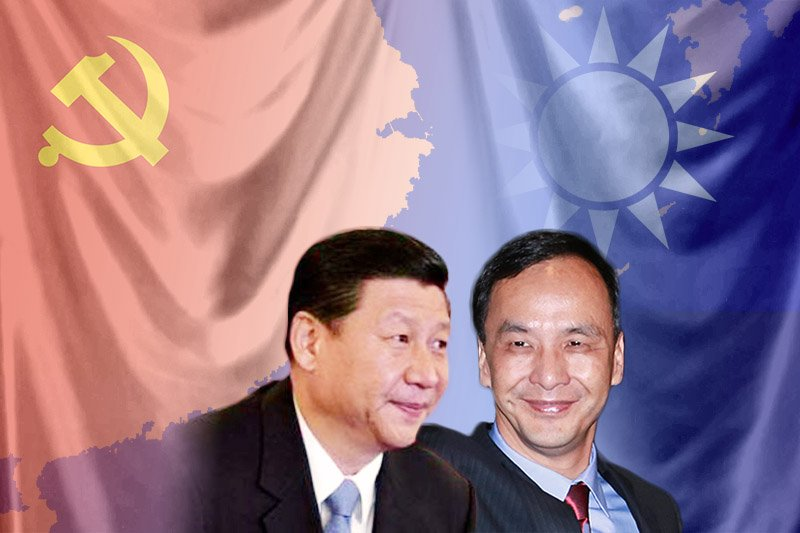 朱立倫將在五月四日與中國國家主席習近平會面。(風傳媒合成)