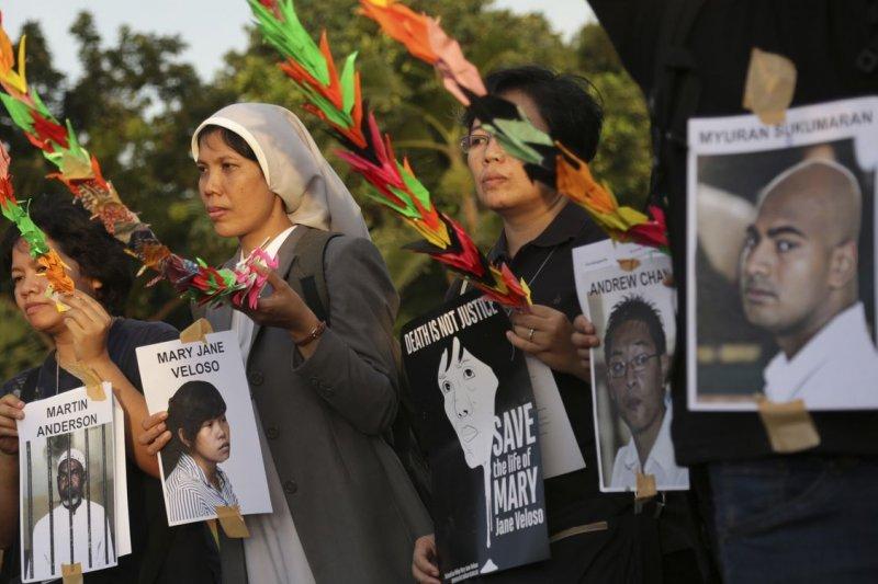印尼反死刑團體為這批死囚請命