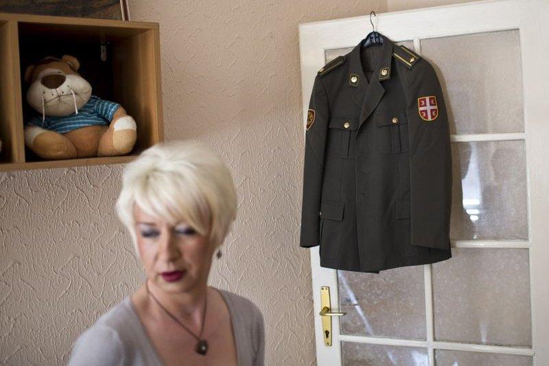 塞爾維亞變性軍官海蓮娜(Helena)