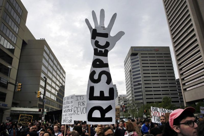 巴爾的摩示威者:尊重