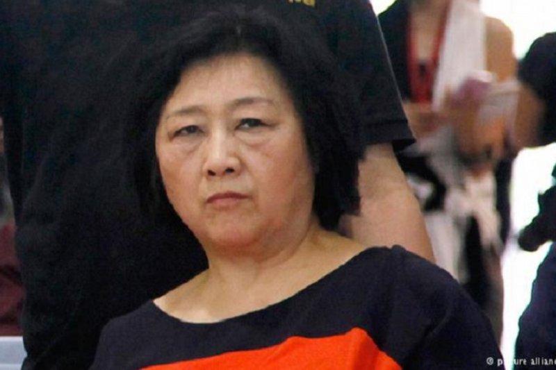 被中國判刑的高齡七十的記者高瑜。(美聯社)