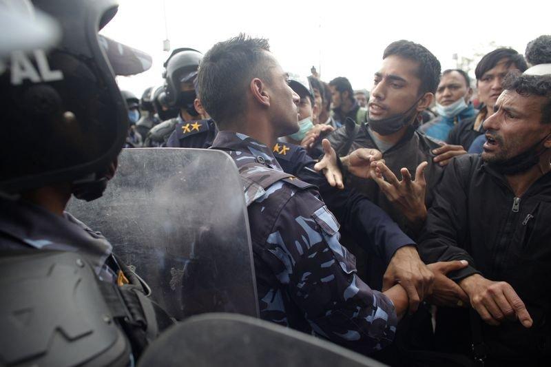 尼泊爾大地震,災後民怨沸騰。