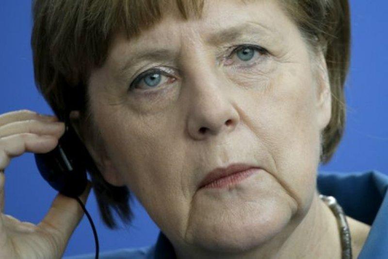 德國總理梅克爾。