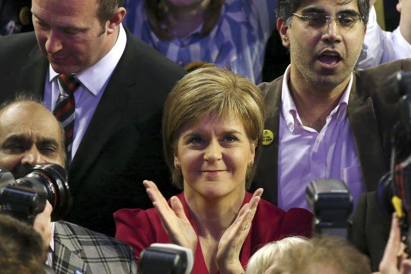 蘇格蘭民族黨(SNP)女黨魁史特金(Nicola Sturgeon)