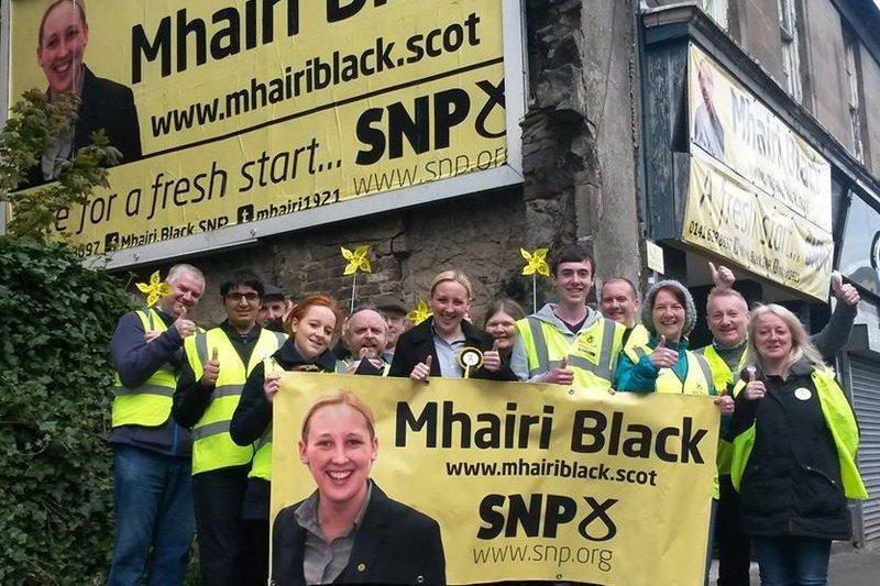 英國新當選的最年輕國會議員布萊克(Mhairi Black)