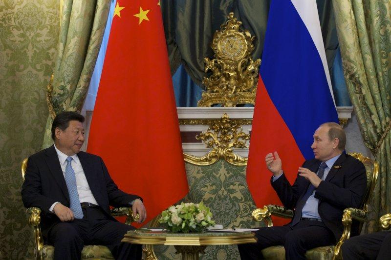 中俄強化雙邊合作。(美聯社)