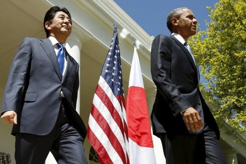 安倍訪美重點在安保問題和TPP(跨太平洋夥伴關係協議)(美聯社)
