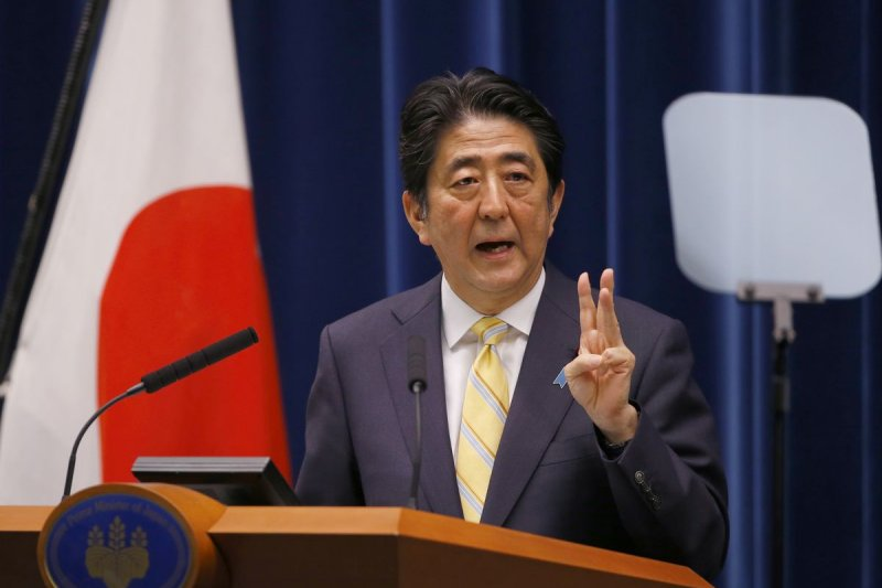 日本首相安倍晉三14日宣布推出新安保法