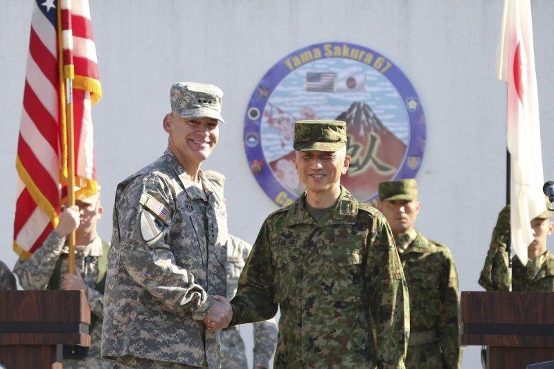 日本與美國軍事合作日益密切