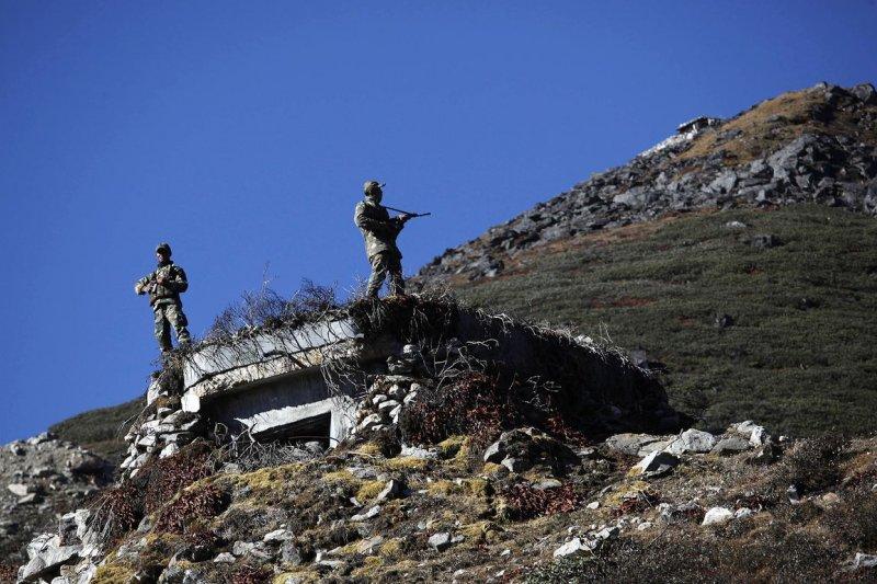 戍守中印邊界的印度士兵