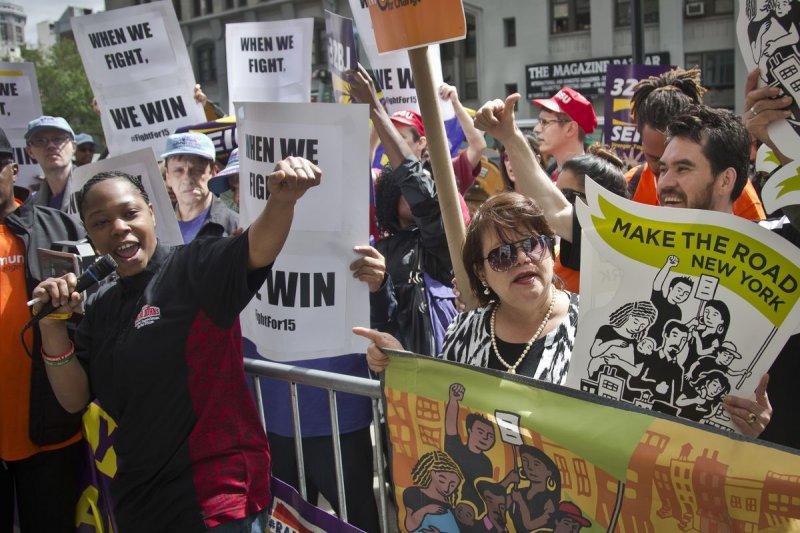 美國調升基本工資(minimum wage)運動