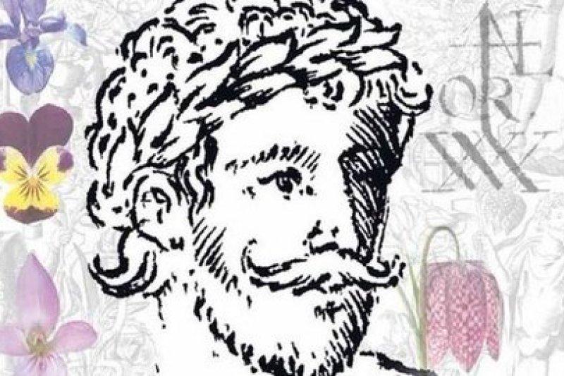葛瑞非斯宣稱找到的莎士比亞年輕畫像。(取自影片)