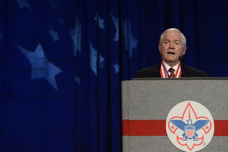 美國童軍(Boy Scouts of America,BSA)總會會長蓋茨(Robert Gates)