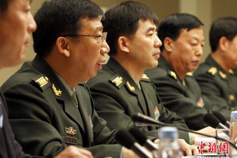 2010年的中國國防白皮書發表會。