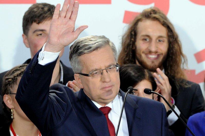 波蘭現任總統科莫羅夫斯基(Bronislaw Komorowski)