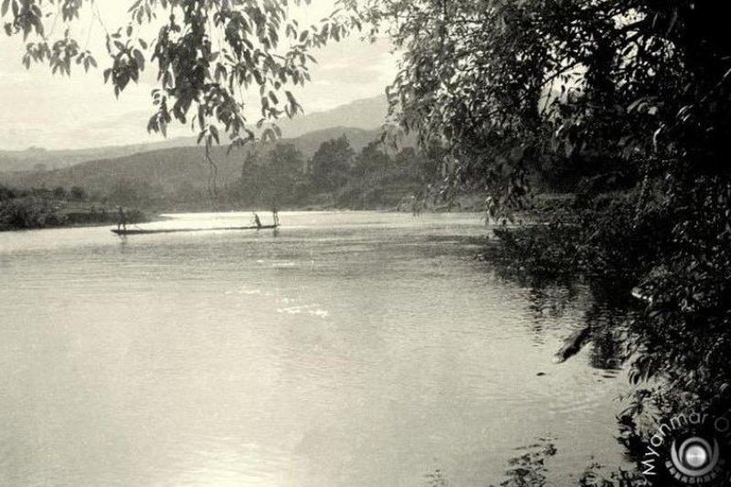 中緬邊境的南卡江。(取自緬甸在線)