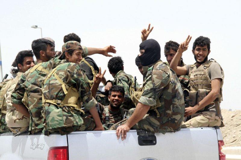 伊拉克什葉派民兵。(AP)