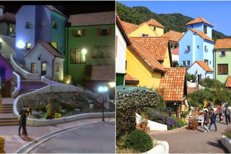 《來自星星的你》取景拍攝的小法國村