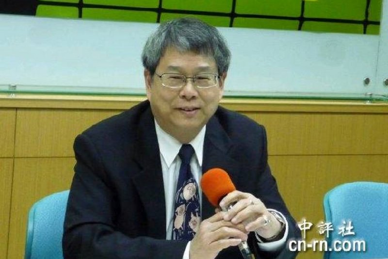 前總統府祕書長陳師孟。(取自中評社)