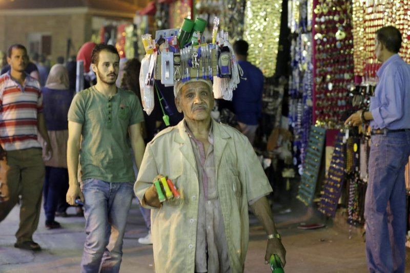 埃及市場的小販