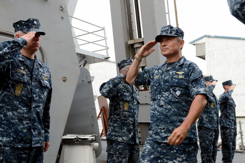 美軍太平洋司令哈里斯。()